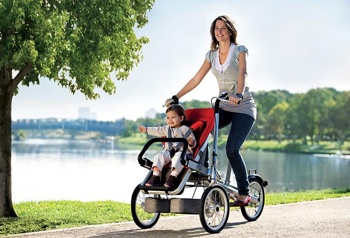 Bicicletta porta bambini Taga
