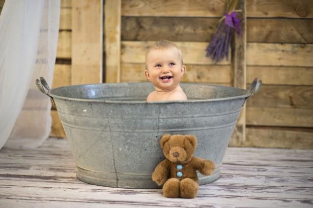 come fare il bagnetto al neonato