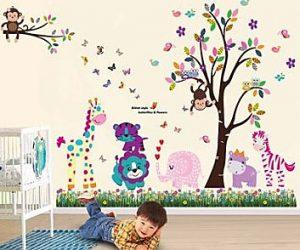 Idee per decorare camerette bimbi - Adesivi camerette bimbi ...