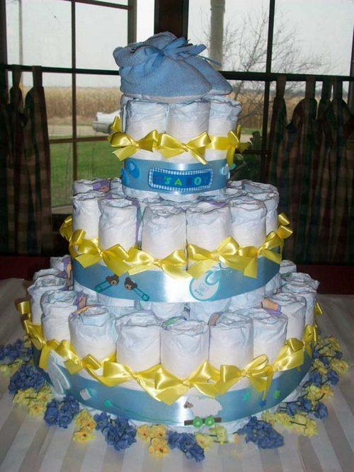 torta di pannolini tutorial per realizzarla