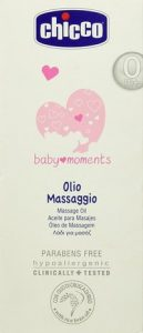 massaggio neonatale olio chicco